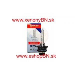 Xenónová výbojka D2S Vertex Premium 6000K, 12V/24V Kovový úchyt banky, nie lepidlo.