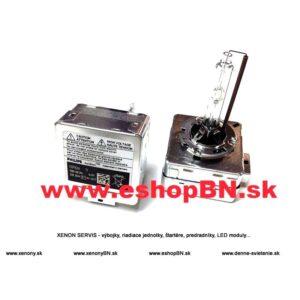 D1S Philips 4700K, 35W xenónová výbojka,+20%, 12V