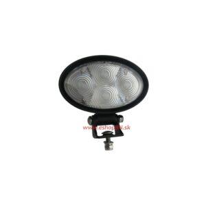 PROFI LED výstražné bodové svetlo 10-48V 4x3W modrý 143x122mm