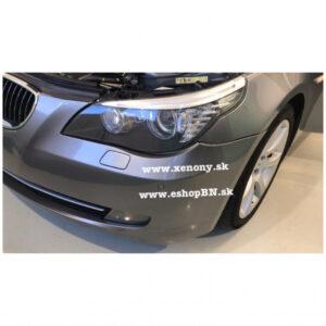 BMW 5 E60-E61, repas, renovácia-výmena projektorov, nenatáčací svetlomet
