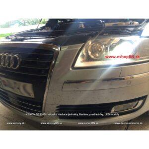 Audi A8 2003-2010, renovácia Bi-xenonov, svetiel D2S Hella