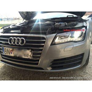 Audi A7 2010 a novšie repas vysvietených svetlometov D3S Bosch, AL
