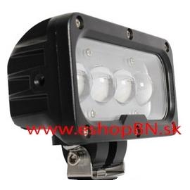 Biele LED svetlá pre vozíky v skladoch, halách až 110V