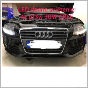 Audi A4 01/2012-10/2015 Bi-xenony D3S, oprava slabej svietivosti, oprava zatekania svetla AL D3S