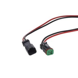 Profesionálny vodotesný konektor DT samica+samec