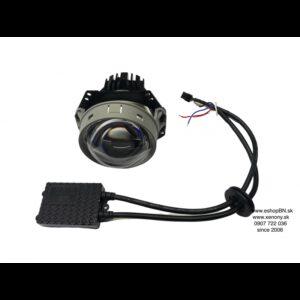 """Bi-LED projektor pre motocykle 1ks 3,0"""" generácia 2., pre retrofit svetla TOP."""