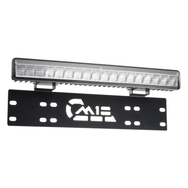 LED rampa pod SPZ, 18x3W, 380mm, R112
