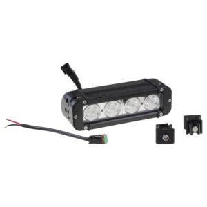 LED svetlo obdĺžnikové, 4x10W, 10-70V, 203x64x92mm