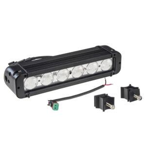 LED svetlo obdĺžnikové, 6x10W, 10-70V, 279x64x92mm