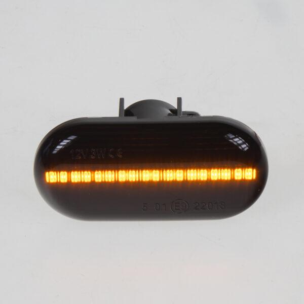 LED dynamické smerovky Renault oranžové dymové
