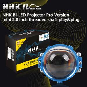 "NHK Bi-LED projektory 2,8"", 5500K pre retrofit svetlometov. TOP. Akcia."
