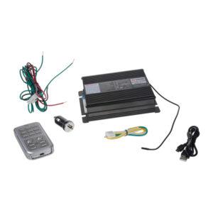 Profesionálny výstražný systém s mikrofónom 200W, bez reproduktoru.