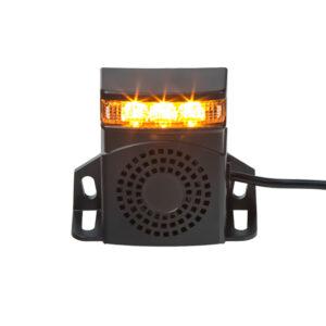 Signalizácia cúvania 10-80V, 92-107dB, ECE R10, so stroboskopom
