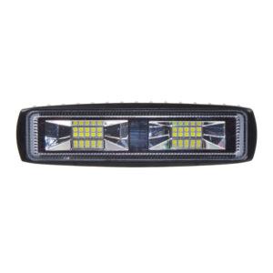 LED svetlo obdĺžnikové, 20x1W, ECE R10