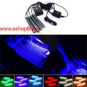 LED pásy ohybné, strihateľné, farebné RGB sety