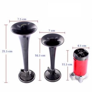 2-tónová fanfára 220mm, 24V s kompresorom