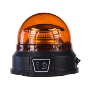AKU LED maják, 45x0,5W oranžový, magnet, ECE R65
