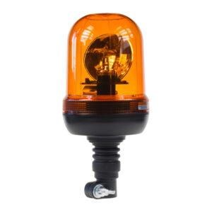 Halogén maják, 12 i 24V oranžový na držiak, ECE R65