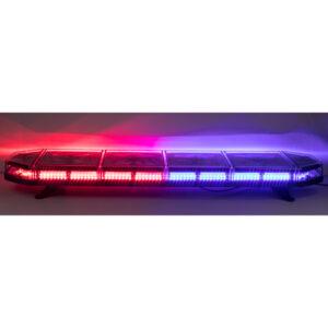 LED rampa 1149mm, modro-červená, 12-24V, homologácia ECE R10