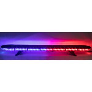 LED rampa 1181mm, modro-červená, 12-24V, homologácia ECE R10
