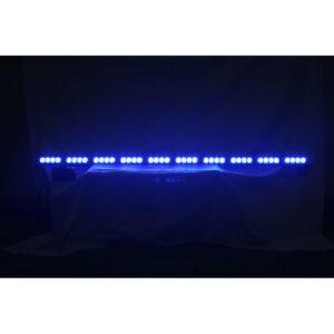LED alej vodeodolná (IP66) 12-24V, 40x LED 1W, modrá 1200mm
