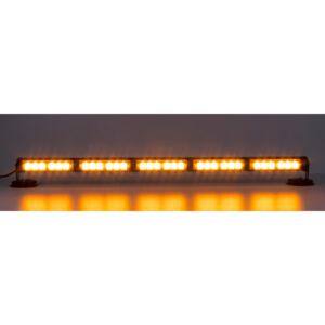 LED svetelná alej, 30x 1W LED, oranžová 800mm, ECE R10