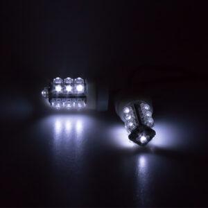 LED stroboskop biely 2ks