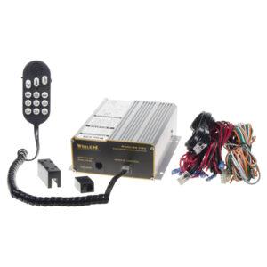 x Profesionálny výstražný systém s mikrofónom 300W