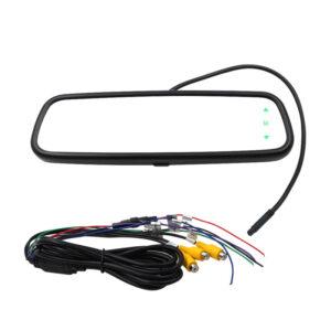"AHD set LCD monitor 7,36 ""v zrkadle pre OEM montáž + AHD kamera 150 °"