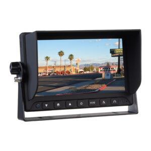 "AHD monitor 7 ""s 2x4PIN vstupmi"