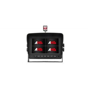 "AHD 960,720P monitor 7 ""s kvadrátory a DVR"