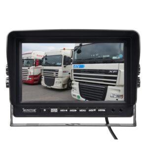 "AHD 960,720P monitor 9 ""s kvadrátory a DVR"