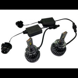 Xenón LED žiarovky D4S, USA CSP Chip, 5000lm,12/24V, farba svetla biela, sada 2 kusy, výmena Plug & Play
