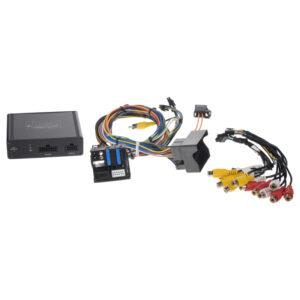 adaptér A / V vstup pre OEM navigáciu Porsche PCM 3.0