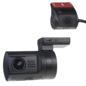 "DUAL miniatúrna FULL HD kamera, GPS + 1,5 ""LCD, HDR, diaľkové ovl, ČESKÉ MENU"