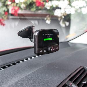 DAB prijímač / Bluetooth HF + prehrávač / micro SD
