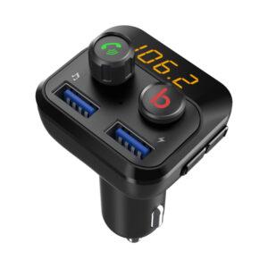 Bluetooth / MP3 / FM modulátor bezdrôtový s USB / SD portom do CL s Bass Booster, diaľkovým ovládačom