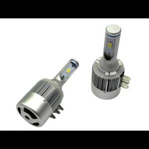 COB LED žiarovky H15, farba svetla biela 6000K, 12V, 36W