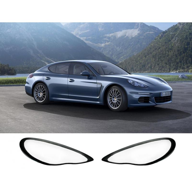 Kryty svetlometov Porsche Panamera (2011-2014), 1ks čierny